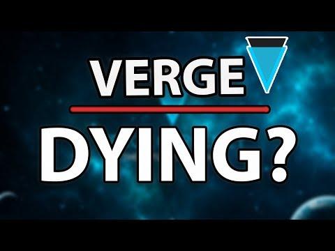 MUST WATCH! VERGE (XVG) IS IT DEAD?