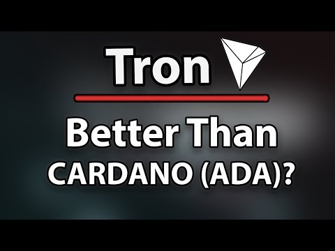 MUST WATCH! TRON (TRX) BETTER THAN CARDANO (ADA)?