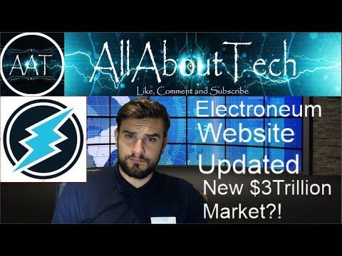 Electroneum UPDATES!! BCI Summit, Website + A New $3Trillion Market?!