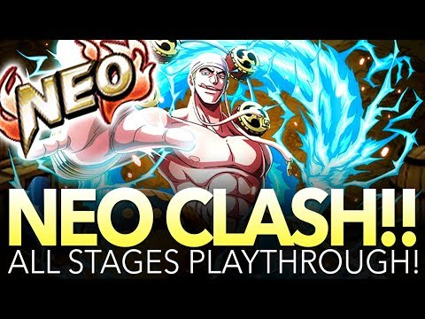 NEO CLASH!! KAMI ENERU! ALL STAGES PLAYTHROUGH! (One Piece Treasure Cruise – Global)