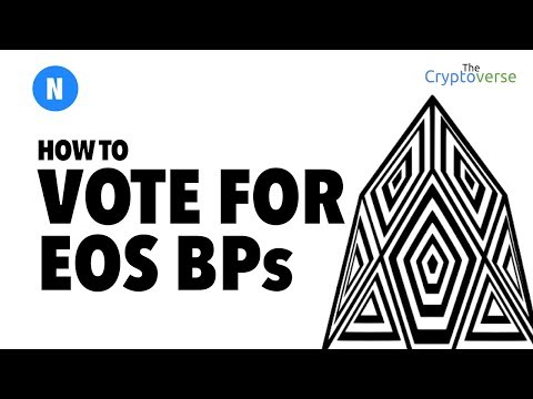 Step By Step How To Vote For EOS Block Producers