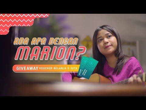 Ada Apa Dengan Marion? | Episode 4 – Giveaway Voucher Belanja 5 Juta Rupiah