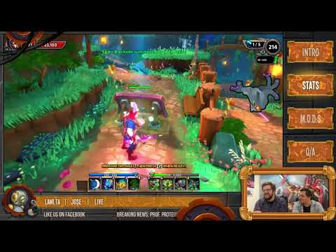Devstream 83:  Protean Shift Expansion Part I | Dungeon Defenders II