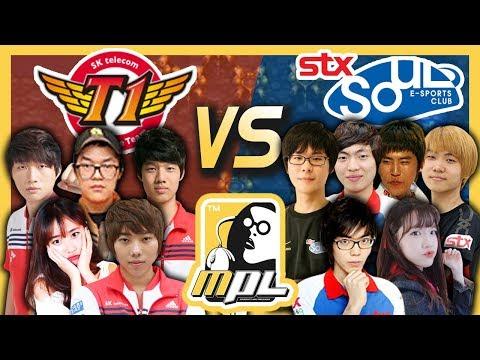 [파이] SKT T1 vs STX Soul, A조최종전 봉준스타프로리그(feat.염보성,조일장,이제동,진영화)-MPL(Starcraft Moo Proleague)/18.06.11