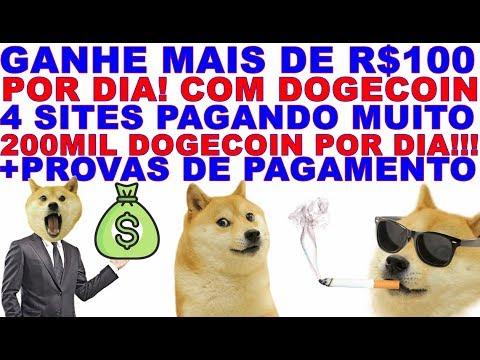 GANHE MAIS DE R$100 POR DIA COM DOGECOIN! 4 SITES PAGANDO MUITO (DE GRAÇA E COM INVESTIMENTO)