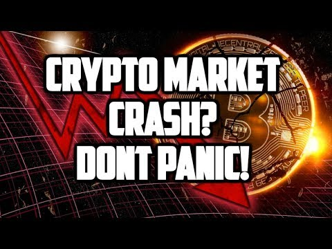 CRYPTO MARKET NEWS! CRYPTOCURRENCY CRASH AGAIN? BITCOIN SELLOFF