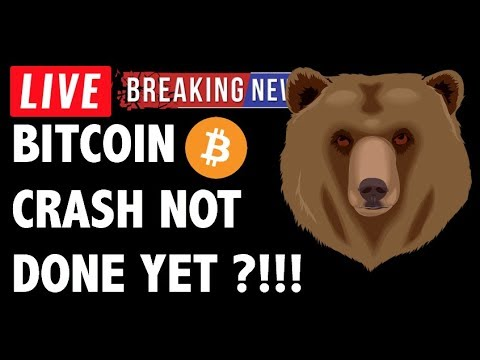 BITCOIN (BTC) CRASH NOT DONET YET?! CRYPTO MARKET ANALYSIS & CRYPTOCURRENCY NEWS