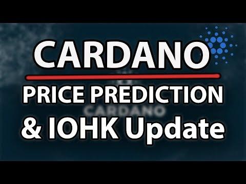 Cardano (ADA) Price Prediction & Updates (IOHK & Roadman)