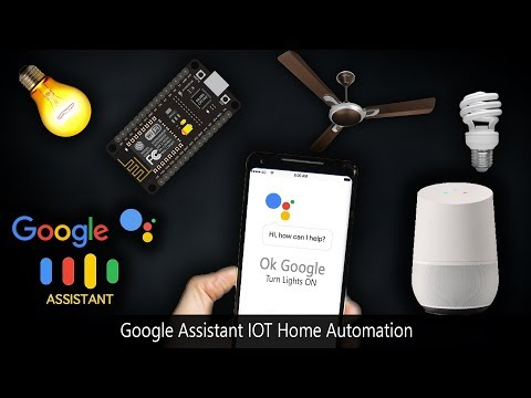 Google Assistant | Home Automation IOT | NodeMCU ESP8266