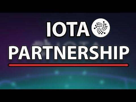 IOTA New Important Partnerships!