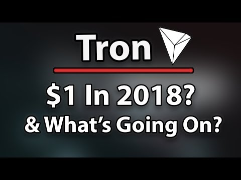 Must Watch! Tron (TRX) $1 In 2018? & What's Going On After Mainnet?!