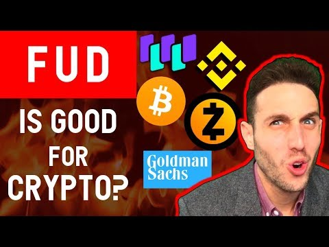 Why this Bitcoin Crash is GOOD for crypto HODLers! ZCash Binance NEO Goldman Sachs