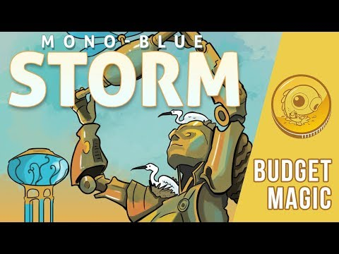 Budget Magic: $92 (33 tix) Mono-Blue Storm (Standard)