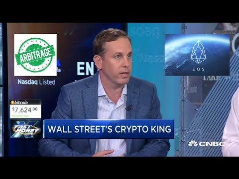 "CNBC's ""Crypto King?"" EOS Blockchain Launching! Hedge Funds Looking At Arbitrage Opportunities!"