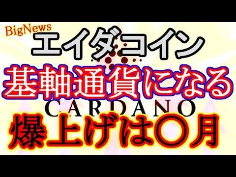 【ADAコイン】祝・エイダが基軸通貨になります! 爆上げ材料 Cardano IronX