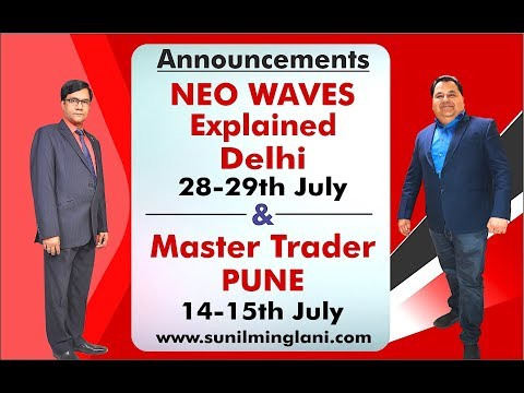 Announcements : NEO Waves Explained Program Delhi & Master Trader PUNE : www.sunilminglani.com