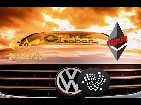 Notícias Análise 12/06: Binance/EURO – NANO/Ledger – IOTA/Volkswagen – HACK Ethereum – Coinbase ETC
