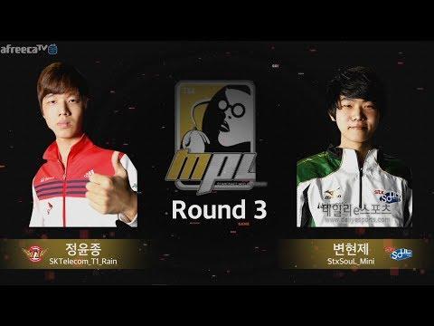 [A조 최종전] 무프로리그 MPL 3경기 STX 변현제 vs SKT 정윤종 2018.06.11
