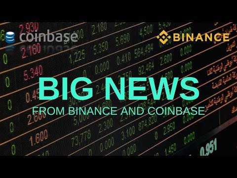 BIG NEWS from Binance and Coinbase – Today's Crypto News