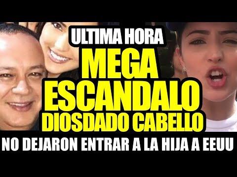 ULTIMA HORA: DANIELA CABELLO BOTADA DE EEUU  Y CUENTA CONGEL.ADA 800MM DE VERDES IMPERIALE.S
