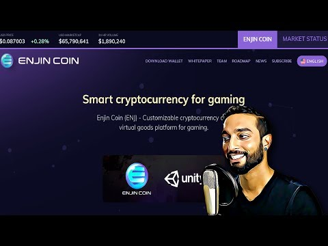 Live Interview With Enjin Coin – Smart Cryptocurrency For Gaming