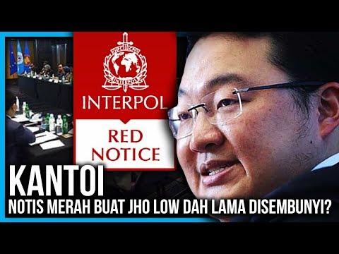 RUPANYA MALAYSIA TAHU ADA NOTIS MERAH BUAT JHO LOW