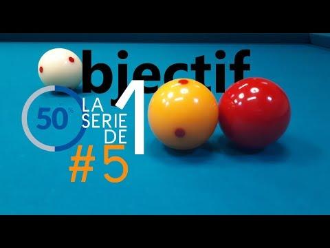 [BCC] Objectif la série de 100 – #5 – Billard français
