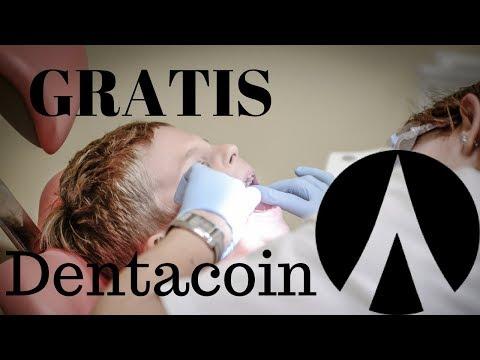Dentacoin GRATIS  bisa langsung di Withdraw ke Market.