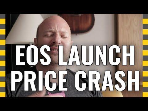 EOS Price at Monday Launch: Crash!