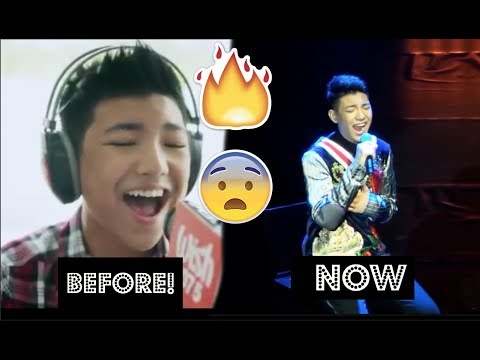 DARREN ESPANTO Before AND After Chandelier Sia COVER (MUST SEE!)