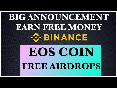 Eos coin free airdrops Binance crypto airdrop 2018 hindi