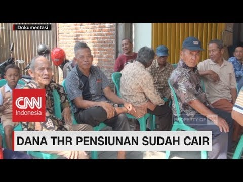 Dana THR Pensiunan Udah Cair! Laporkan Bila Ada Keterlambatan Pembayaran