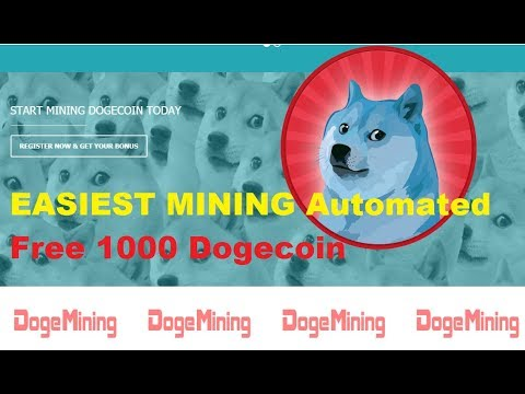 EASIEST MINING Automated | Free 1000 Dogecoin
