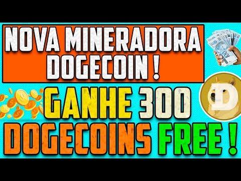 OPA ! Nova Mineradora Dogecoin dando 300 Dogecoins GRÁTIS no cadastro ! DogeCloud24 !