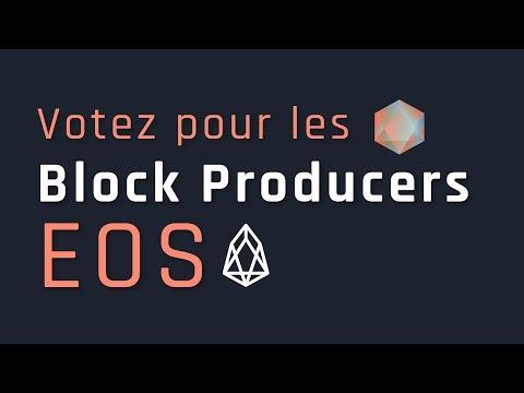 MainNet EOS : Votez pour les Block Producers (FrancEOS)