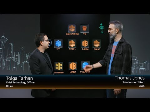 Onica: Serverless Monitoring and Analytics for AWS IoT-connected Tanks