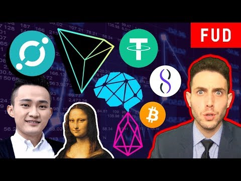 Crypto FUD at ATH! ICX Token Swap, Tron + BitTorrent? EOS Fail? Binance, DBC + AGI!  USDT