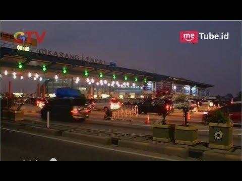 Tak Ada Kemacetan, Tol Cikarang Utama Terpantau Ramai Lancar – BIP 14/06