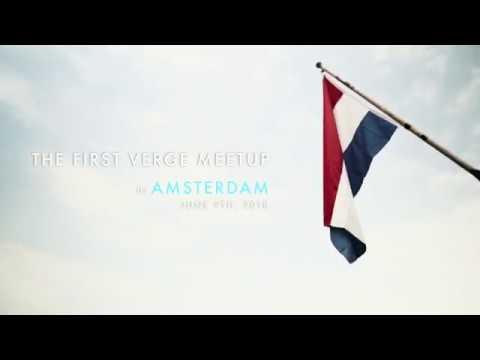 Verge Amsterdam Meetup