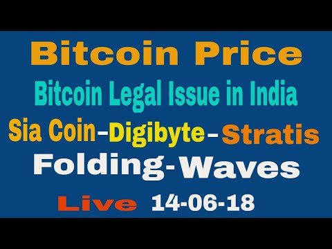 Bitcoin Price And RBI Legal Issue/Sia-Dgb-Stratis-Fldc-Waves Coin In Hindi
