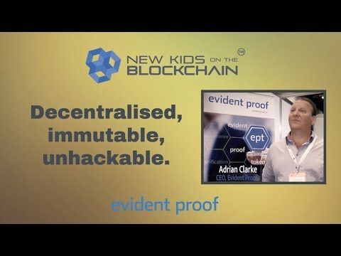 Evident Proof – Immutable proof on the blockchain. ICO News.  Cryptocurrency news