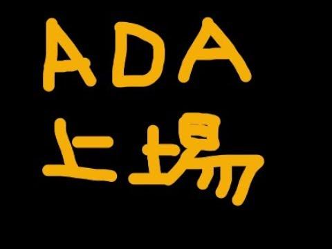 ADAエイダがビッサム韓国仮想通貨取引所に上場!価格は上昇するのか!?【仮想通貨バブル】