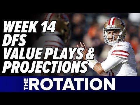 2017 Fantasy Football: Week 14 DFS Value & Contrarian Plays + Ownership Projections | The Rotation