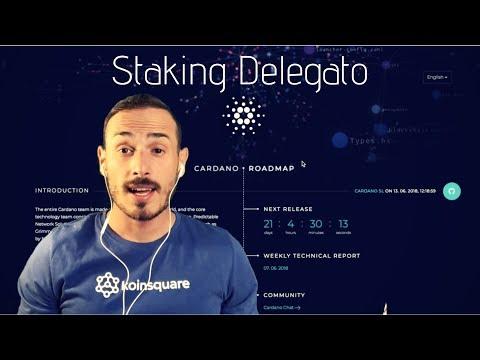 Cardano, ADA e lo Staking Delegato