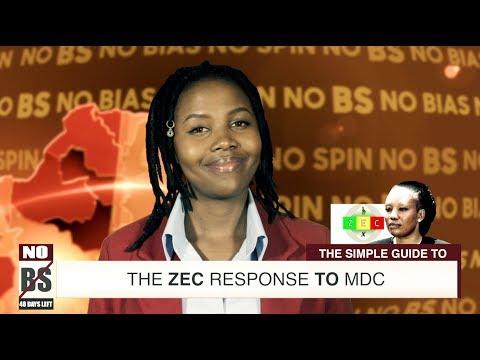 ZEC's Response to MDC Alliance – No BS assessment