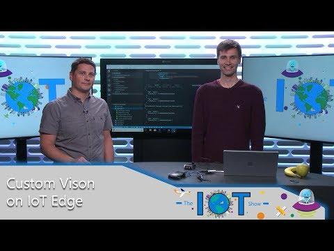 Custom Vison AI on Azure IoT Edge