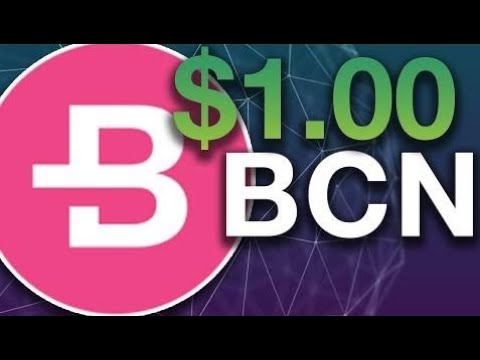 Bytcoin $1? Updated Ecosystem – BCN Price Prediction 2018