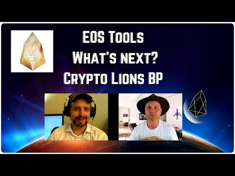 Whats Next For EOS?  –  Crypto Lions Block Producer