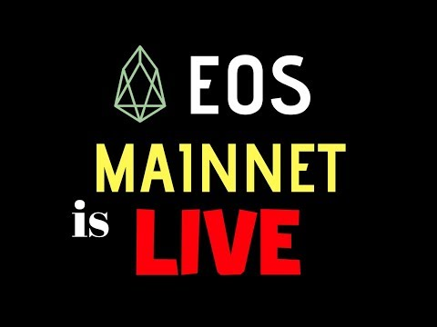 EOS Mainnet is LIVE – First Transactions Sent