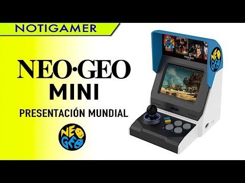 NEO GEO Mini: Presentación Mundial en E3 | Características – Modelos